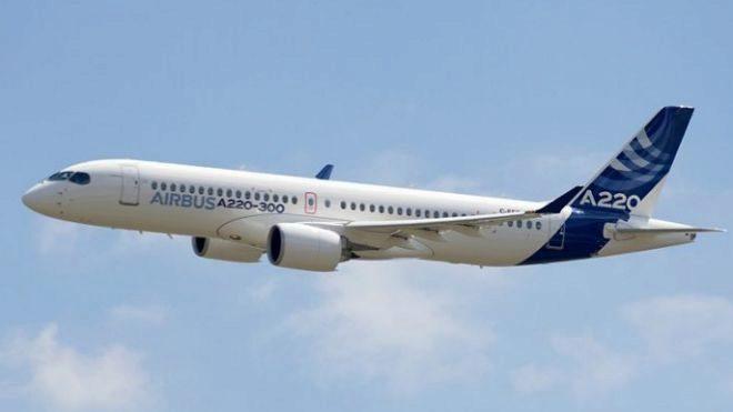Serie C se transforma en la nueva familia A220 de Airbus