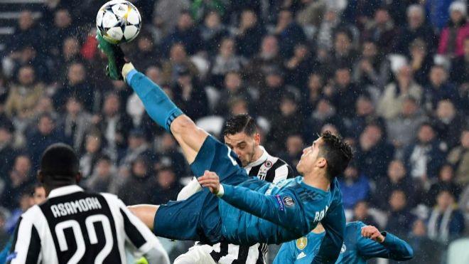 Cristiano Ronaldo marcó un gol de chilena a la Juventus en la pasada  edición de la Champions League. EXPANSIÓN. 011e5554d185e