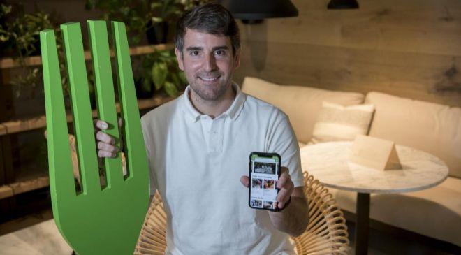 Marcos Alves, cofundador y CEO de ElTenedor.
