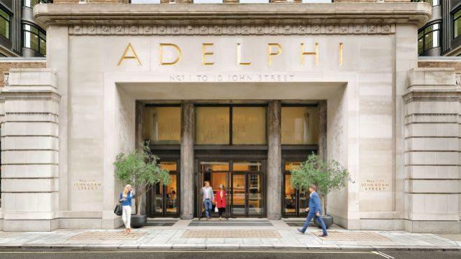 Amancio Ortega compra el edificio Adelphi en Londres por 680 millones