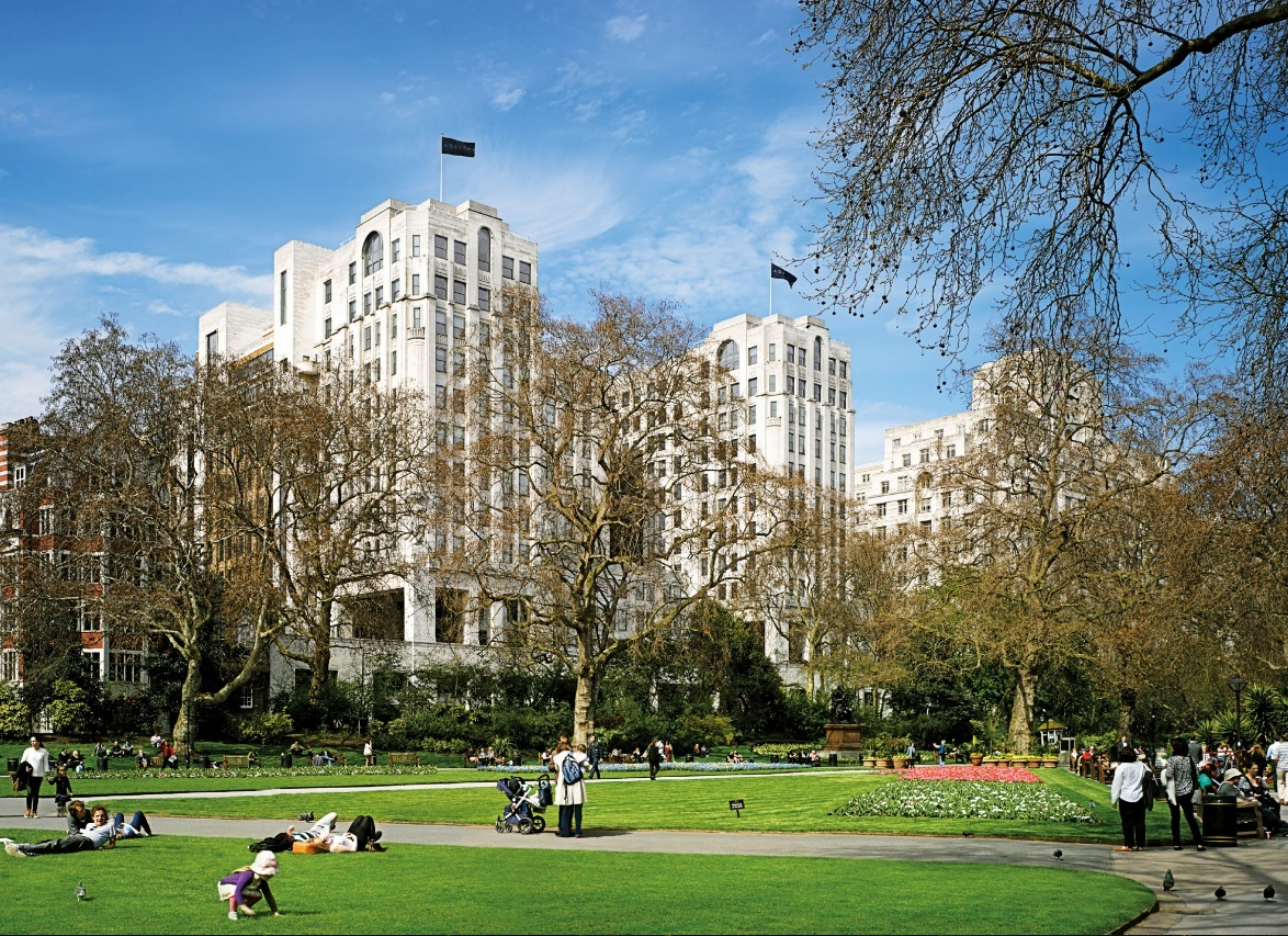 Edificio Adelphi, localizado en Londres.
