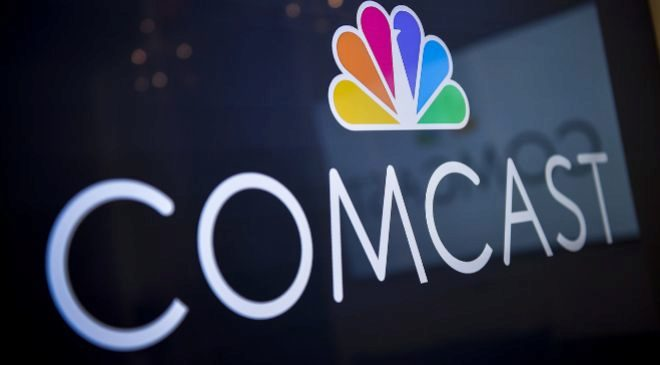 Logo de Comcast.