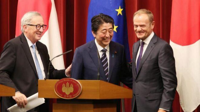 La Unión Europea y Japón firman acuerdo comercial