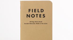 Libreta a6. De la firma Field Notes. Precio:12,95 euros/3 u.