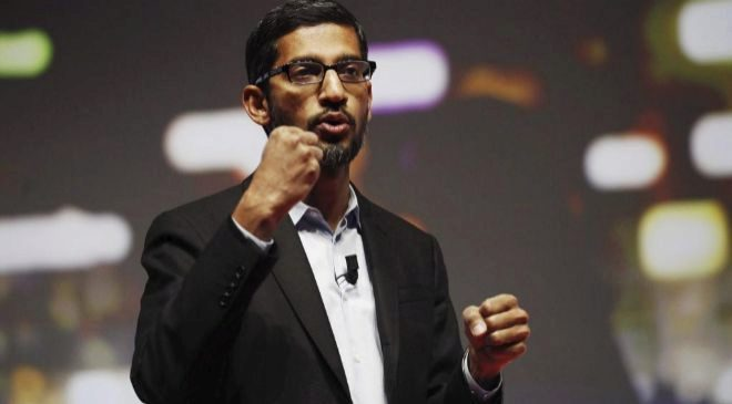 Sundar Pichai, consejero delegado de Google.