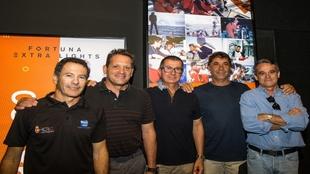 Héctor López Piqueras, Juan Vila, Pelayo Lopez de Merlo, Guillermo...