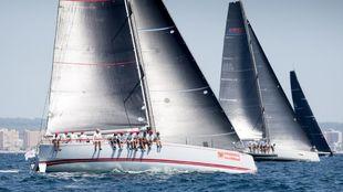 La flota de Club Swan 50 durante la pasada edición | María...