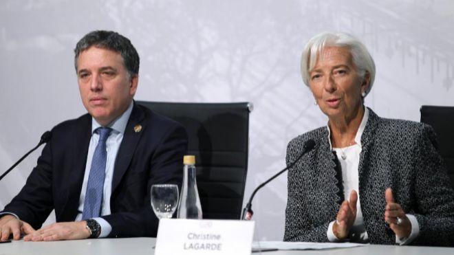 La directora del FMI cenará este viernes en Olivos