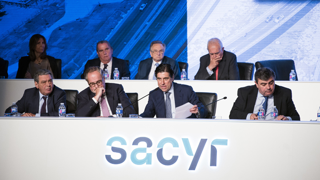 Junta de accionistas de Sacyr.