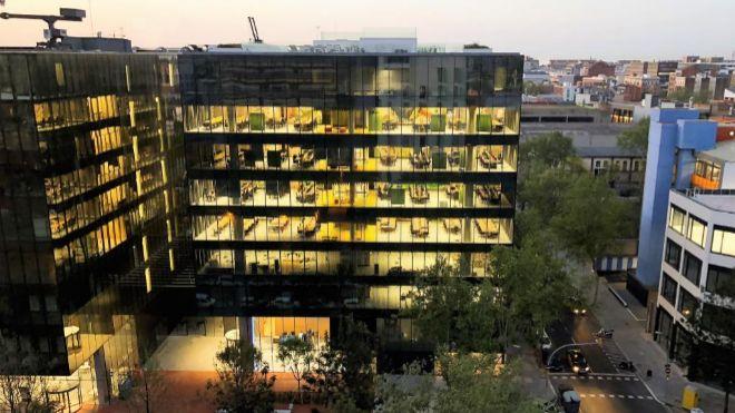 Las instalaciones de Seller Support Hub de Amazon en Barcelona