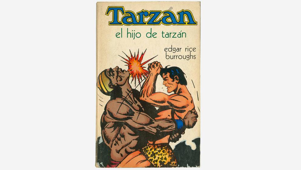 """""""El hijo de Tarzán"""", editado por Novaro en 1973 con portada..."""