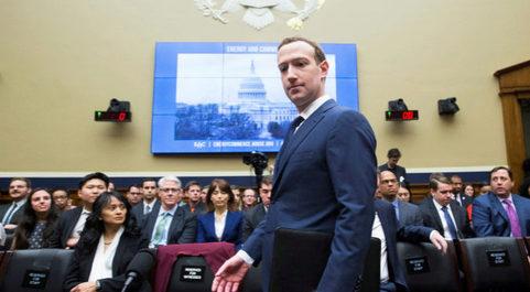 El fundador y presidente ejecutivo de Facebook, Mark Zuckerberg.