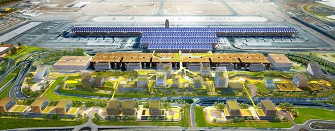 Aena quiere llevar el cuartel general de iberia indra y globalia a barajas expansion - Oficinas air europa madrid ...