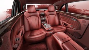 La tapicería de cuero del Bentley Mulsanne WO Edition.