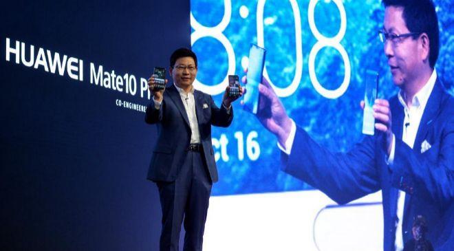 El consejero delegado de Huawei, Richard Yu.
