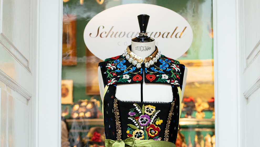 Uno de los vestidos de la firma alemana. Precio: 1.375 euros.