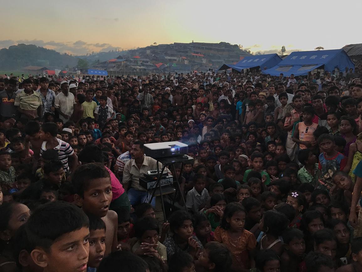 El año pasado cerca de 300.000 rohingyas escaparon de su lugar de...