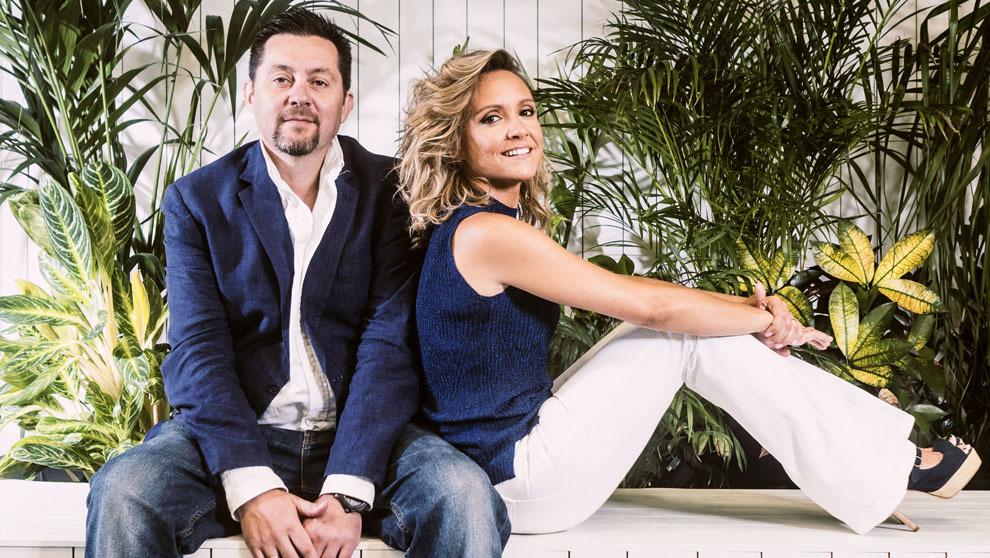 Ramón Campos, 42 años, y Teresa Fernández-Valdés, 39, en las...