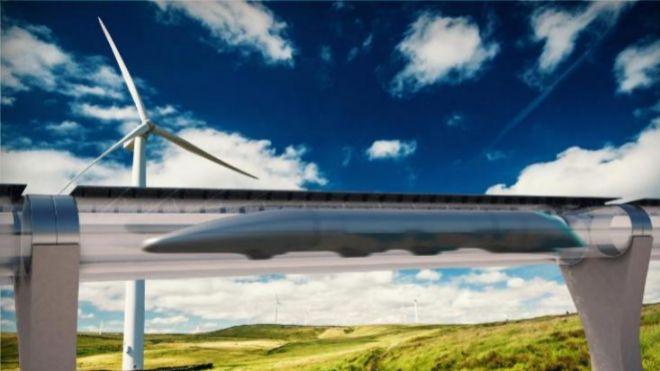 Virgin experimentará su sistema de transporte hyperloop en Málaga