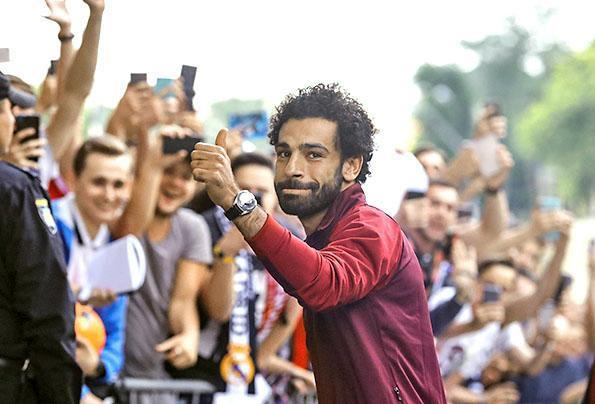 10. Mohamed Salah (Egipto). Crecimiento: 2,4 millones de seguidores....