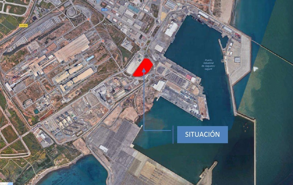 Dragados construirá el Centro de Inspección Fronteriza del puerto de Sagunto