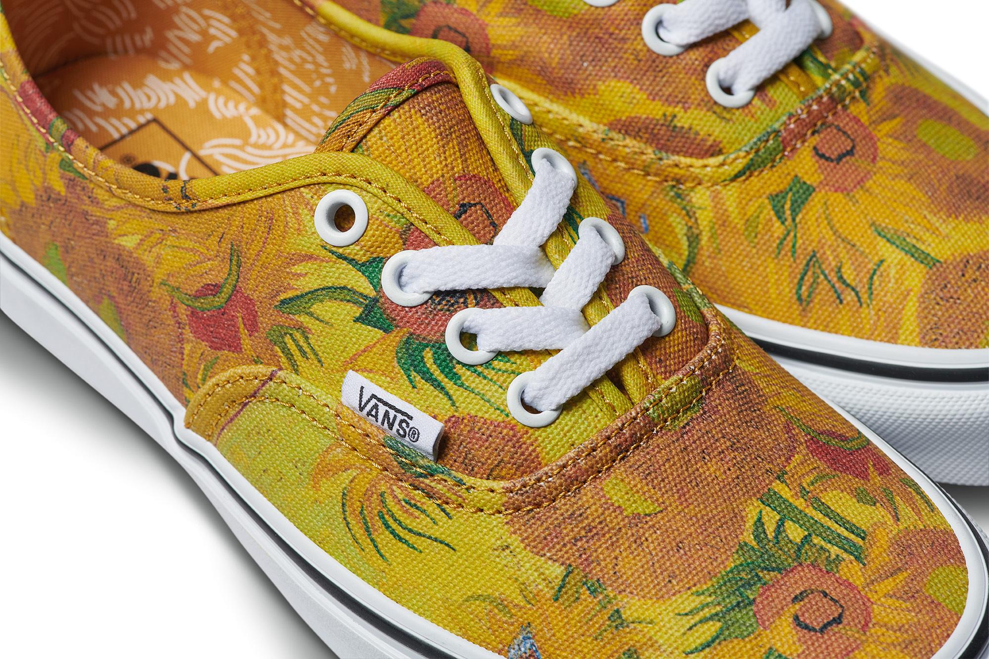 especial para zapato gran descuento exuberante en diseño Vans lanza una colección de zapatillas inspiradas en Van Gogh