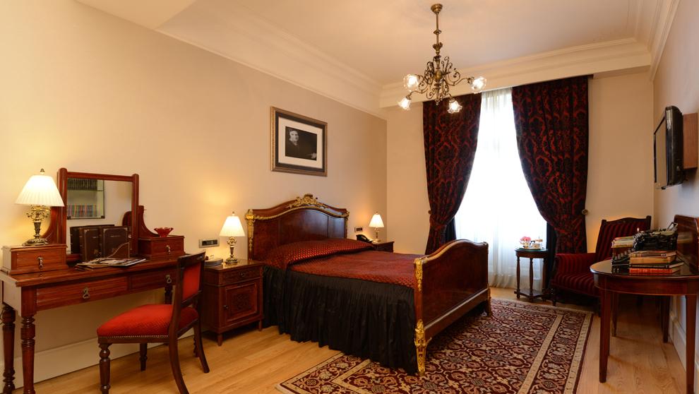 La habitación fetiche del Pera Palace es la 411, donde Agatha...