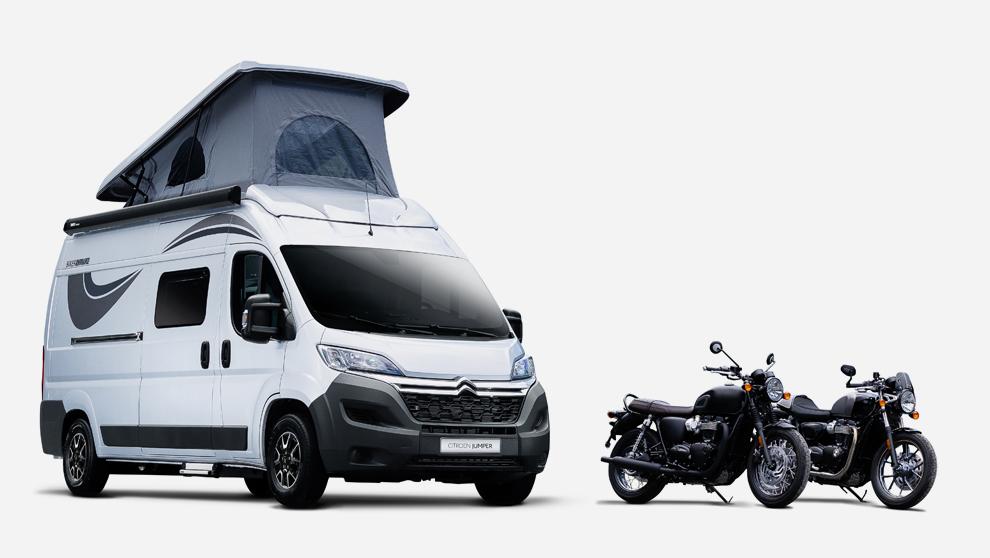 Jumper Biker Solution es el nuevo invento de Citroën presentado en la...