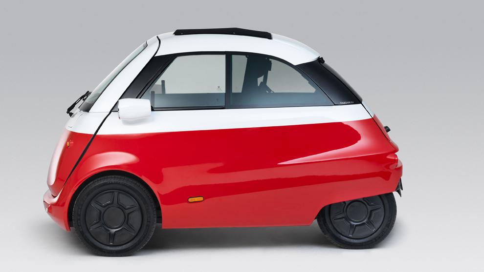 Microlino, el nuevo coche urbano inspirado en el coche burbuja de BMW.