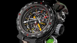 RM 25-01: el reloj de John Rambo, de la firma relojera Richard Mille....