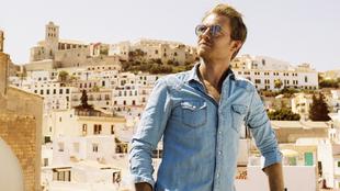 El expiloto de Fórmula 1 Nico Rosberg, 33 años, en la isla balear,...