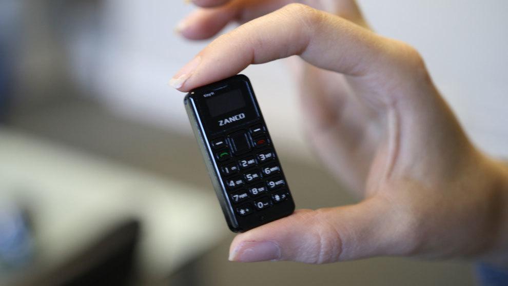 Zanco tiny t1, el móvil más pequeño en el mundo que se venderá en...