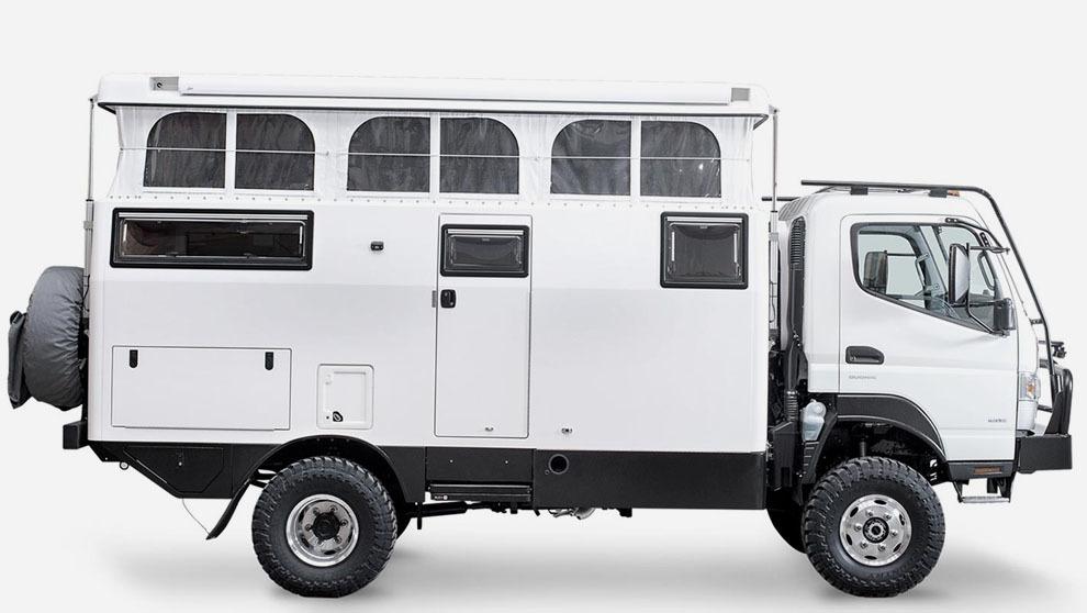 EarthCruiser, un camión con el que se puede llevar su casa en un...