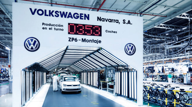 Fábrica de VW Navarra.