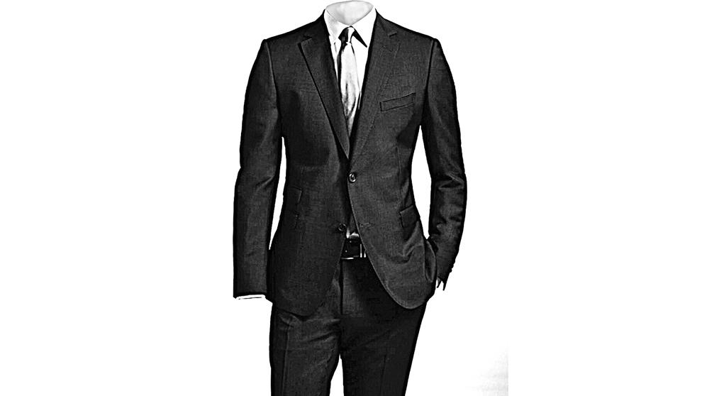 Los trajes clásicos suelen ser garantía de una buena impresión.