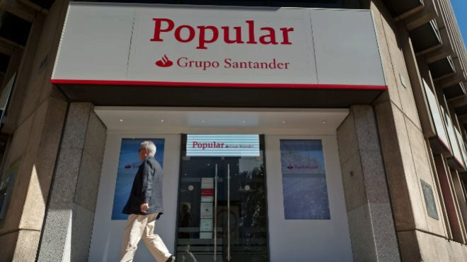 Santander empieza a suprimir oficinas de popular expansion for Oficinas banco popular madrid