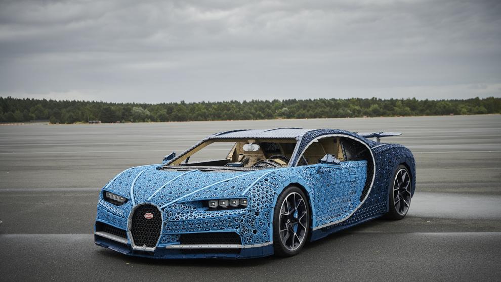 Así es el primer Chiron Bugatti fabricado con millones de piezas de...