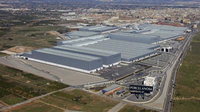 La división industrial cerámica de Porcelanosa factura 355 millones, un 4% más