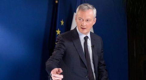 El ministro francés de Economía y Finanzas Bruno Le Maire.