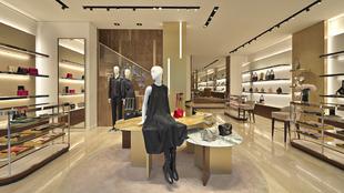 La nueva boutique de Salvatore Ferragamo concentra en 321 metros...