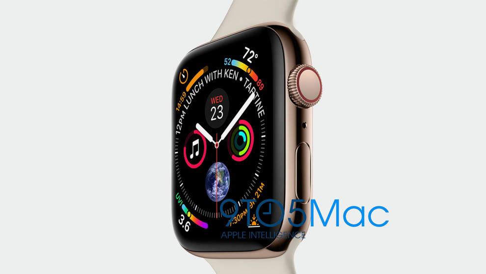 El nuevo Apple Watch Series 4, presenta un diseño más fino y una...