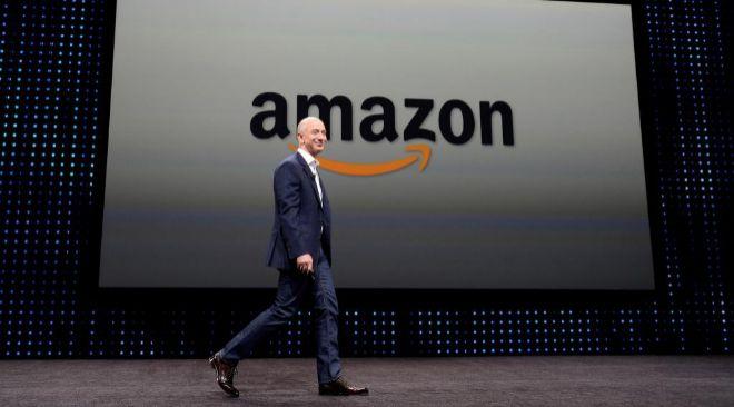 Jeff Bezos, consejero delegado de Amazon.