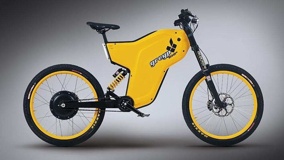 La bicicleta eléctrica Greyp G12S.