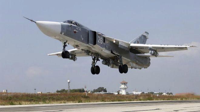 Avión militar ruso fue derribado por la defensa antiaérea siria: 15 muertos