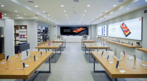 La tienda de Xiaomi en Gran Vía 2, Barcelona.