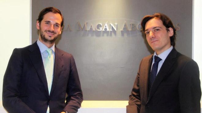 Ceca Magán potencia el área de laboral con dos nuevos socios