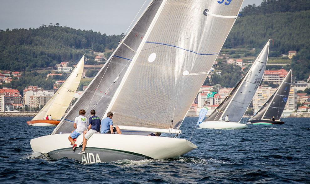Embarcaciones de la regata Juan Carlos I Trofeo El Corte Inglés,...