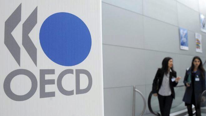 OCDE reduce prevision del PIB para Mexico en 2018 y 2019