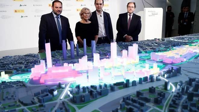 Carmena da el primer paso para modificar el PGOU necesario para Madrid Nuevo Norte