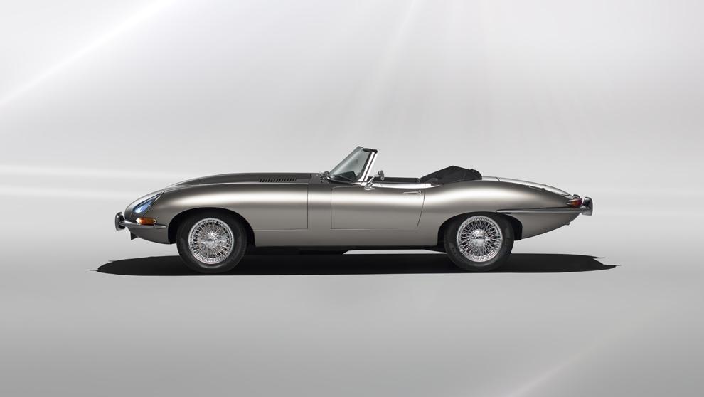 Jaguar E-Type versión totalmente eléctrica, se comercializará en...